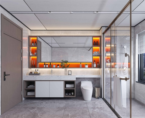 定制柜 卫浴